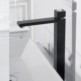 Стоящ смесител за умивалник - висок без изпразнител Unika 41504