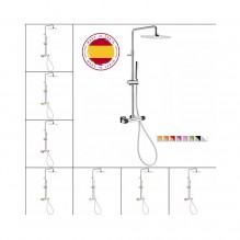 Термостатична душ система Loft Colors