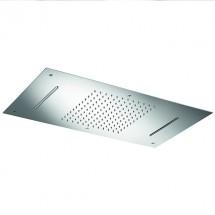 Правоъгълна глава за SPA душ - за вграждане в таван