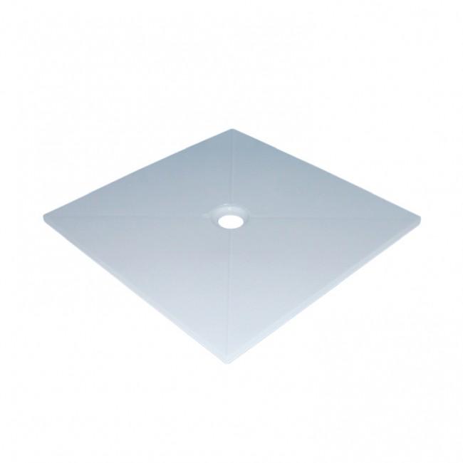 Квадратно поддушово корито от полимер мрамор ELENA