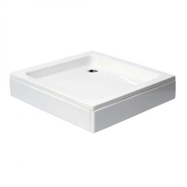 Комплект квадратно душ корито с крачета BORA GS80