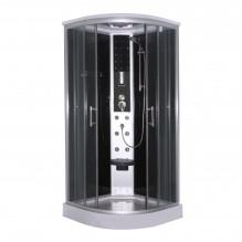 Затворена душ кабина в черно SALSA CL96