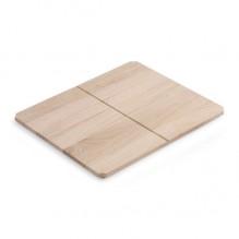 Дървен рафт Fuji 6011 за конзола за мивка