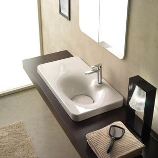 Мивка за баня Fuji 80 shelf sx