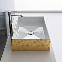 Мивка за баня GOLD FLOWERS