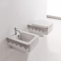 Окачена тоалетна чиния PLATINUM LACE