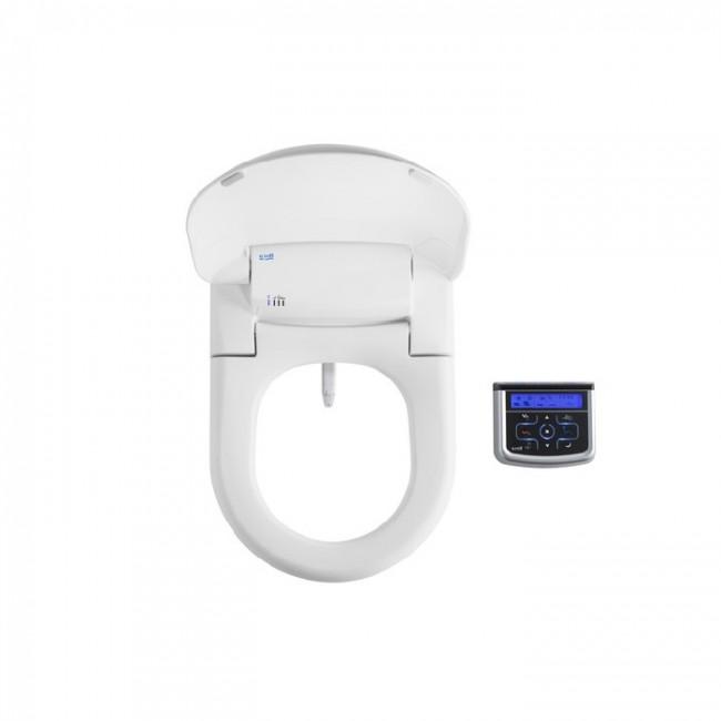 Multiclin Седалка с функция биде Premium за тоалетни чинии с кръгла форма