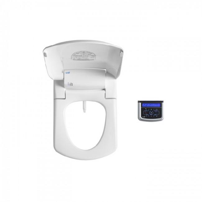 Multiclin Седалка с функция биде Premium за тоалетни чинии с квадратна форма