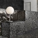 Серия Karlovy Gold / Black - колекция плочки за баня в златист и черен цвят
