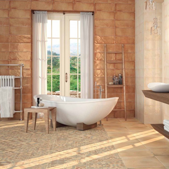 Montblanc - колекция испански плочки за баня