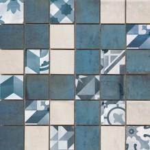 MOSAICO MONTBLANC BLUE - стенни плочки за баня