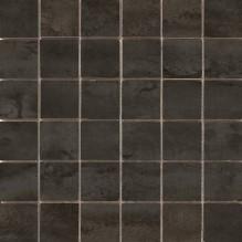 MOSAICO ACERO BLACK - испански плочки за баня