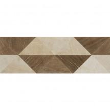 Гранитогрес с дървесен дизайн CODE 519 - бежово/ кафяв