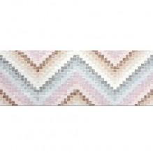 Lollipop Zigzag Pink 22.5x60 - стенни плочки / фаянс