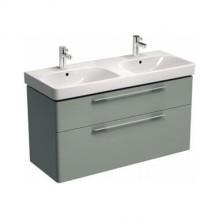 Влагоустойчив  шкаф за баня с двоен умивалник TRAFFIC 120
