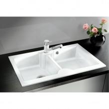 Керамична кухненска мивка BLANCO IDESSA 9