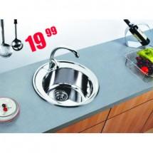 Кръгла кухненска мивка 65BE YB4949