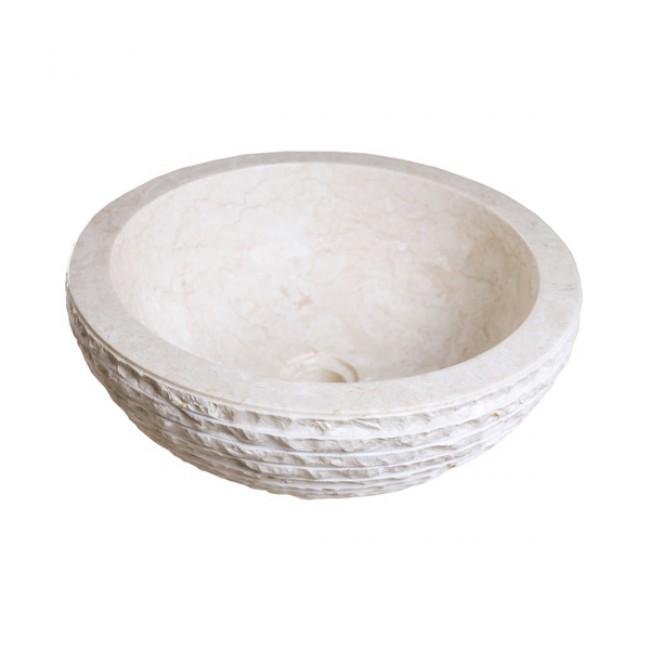 Мраморна мивка LAVAMANO MARMOL TH-007-BLB