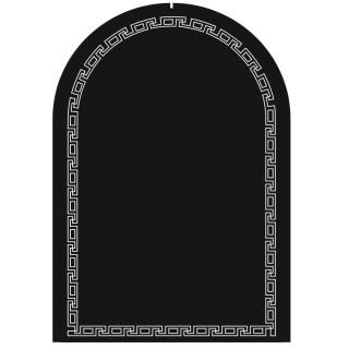 Дизайнерско овално огледало Меандър 9040-01