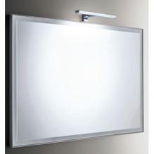 KUBE - огледало за баня с хромирана LED лампа