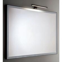 KUBE BLACK - огледало за баня с черна рамка