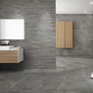 Stone Box - стилна колекция от плочки за баня