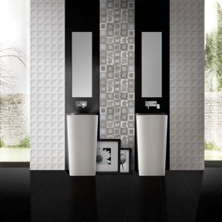 Black&White - серия плочки за баня