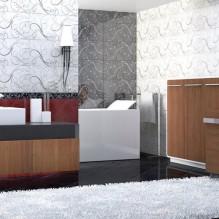 Серия плочки за баня Карат