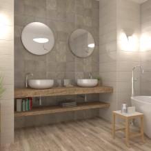 Ancona Plata - серия плочки за баня