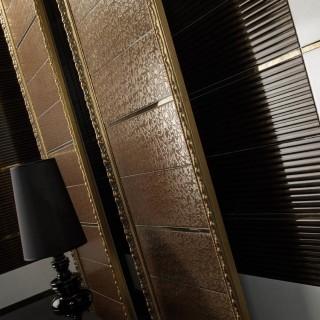 Tresor iсерия- колекция модерни плочки за баня в бял и кафяв цвят