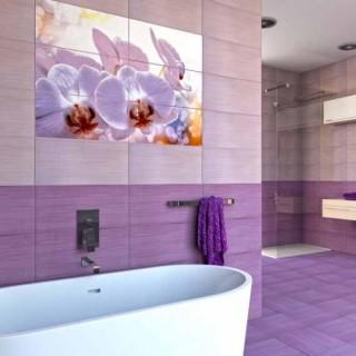 Виола - серия плочки за баня