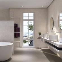 MATERIA IVORY - серия стенни плочки за баня