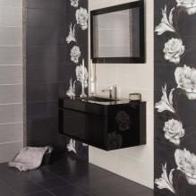 Серия Hermes 1 - колекция испански плочки за баня с цветя