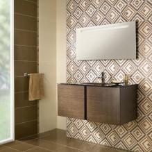 Серия Aurea Beige - колекция плочки за баня с финни дизайнерски елементи