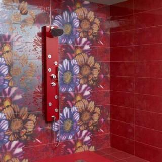Серия Village Dalia - колекция испански плочки за баня с флорални мотиви