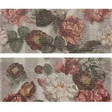 Milargo Decor Flowers 01 2PZ - декорни плочки за баня