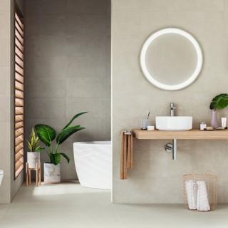 Plaster-Melt - серия гранитогресни плочки за баня