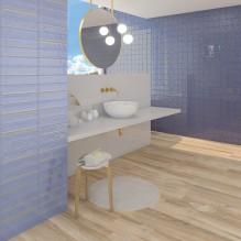 Hanami Indigo - плочки за баня от Испания