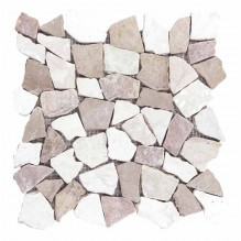 NOA CORAL STONE - мозаечна плочка от естествен камък
