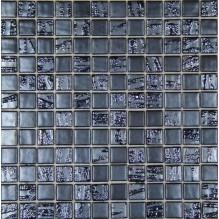 BAMBOO ANTRACITA 50% - стъклена мозайка