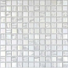 BAMBOO BLANCO 50% - стъклена мозайка