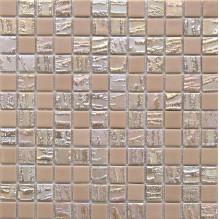 BAMBOO BEIGE 50% - стъклена мозайка