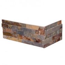 Плочки от естествен камък Low Cost Corner Oxido