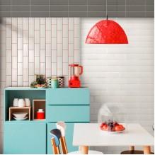 BISELADO MONOCOLOR 10X20 - серия плочки за кухня 10х20 см