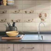 BISELADO MONOCOLOR 10X30 - серия плочки за кухня 10х30 см