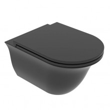Окачена тоалетна чиния Flut FLWCSO-Nero