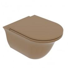 Окачена тоалетна чиния Flut FLWCSO-Castagna