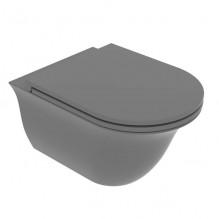 Окачена тоалетна чиния Flut FLWCSO-Cemento