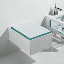 Окачена тоалетна чиния GLASS