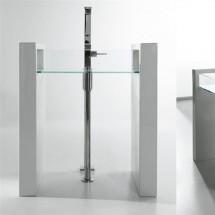 Стояща мивка GLASS 80 см